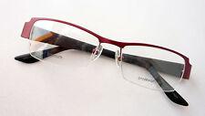 Titan Brille Gestell Nylorrand rot schwarz Damen Fassung ProDesign nickelfrei M