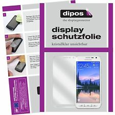 2x Samsung Galaxy S6 ACTIVE Schutzfolie Display Folie S 6 ACTIVE klar dipos