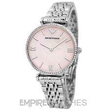 *NEW* EMPORIO ARMANI LADIES GIANNI T-BAR DIAMONTE WATCH - AR1779 - RRP £329