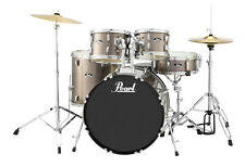 Pearl Roadshow 5 Piece Drum Set With Hardware & Cymbals - Bronze Metallic - RS52