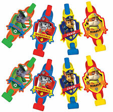 Paw Patrol Blowouts Boys / Kids Birthday Party Supplies Noise Makers Favors (8)