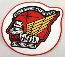 "Gwrra Gold Wing Road Rider Association Xl Large Lg 9"" X 10"" Back Patch"