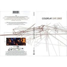 DVD COLDPLAY LIVE 2003 724349080492