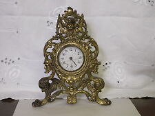 BRONZE GILBERT CLOCK FOR RESTORATION  MIRROR OR PICTURE FRAME