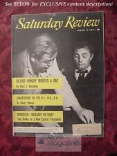 Saturday Review August 13 1955 CHARLES LAUGHTON ROBERT MITCHUM Paul S. Henshaw
