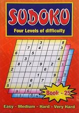 Sudoku Puzzle games book,Enrich Your Word Power one of the BEST, No. 25
