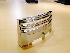 "Grace 16""  / 40 cm Chrome Silver Front  Fret  for Gas / Electric Fire"