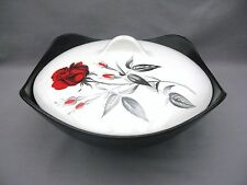 A Midwinter Stylecraft Fashion Shape Carmen Red Rose tureen & lid - John Russell