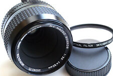 MINOLTA MC MACRO ROKKOR 50mm f3.5 for mirrorless JAPAN GREAT