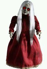 Creepy Roaming, walking, talking, light up eyes Rosie Animatronics Antique Doll