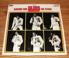 Elvis Presley ♫ BOXCAR LABEL ♫ Having Fun w/ Elvis On Stage RARE FACTORY SEALED