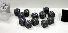 Dungeons & Dragons 16mm: 12 Piece Dice Set: D6 Speckled Hi-Tech 25740