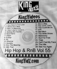 HipHop, Rap & RnB Music Videos DVD Vol 55! Fetty Wap The Weeknd Wiz Khalifa Wale