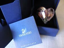 RARE Authentic Swarovski Jewelry Swan Logo Purple HEART Rosaline Ring Valentines