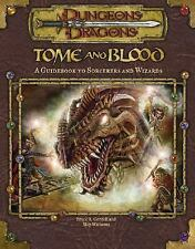 Tome and Blood: A Guidebook to Wizards and Sorcerers (Dungeons & Dragons d20 3.0