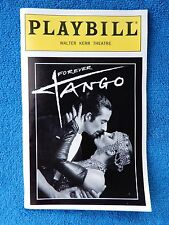 Forever Tango - Walter Kerr Theatre Playbill w/Ticket - August 28th, 1997