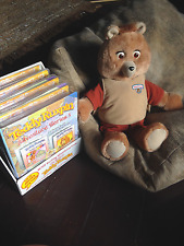 Teddy Ruxpin 2006 BackPack Toys Works Great Has all Cartridges Hard To Find Rare