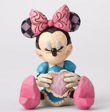 Jim Shore Disney Traditions Mini Minnie Mouse Holding a Heart Figurine 4054285