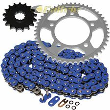 Blue O-Ring Drive Chain & Sprockets Kit Fits YAMAHA R6 YZF-R6 1999 2000 01 2002