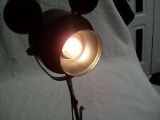 """Rare Disney Channel's """"Search for the Stars"""" Mickey's Film Reel Stage Desk Lamp"""
