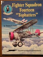 """Squadron Signal FIGHTER SQUADRON FOURTEEN """"Tophatters"""" SBD SB2C F-14 OOP"""