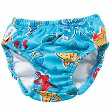 NEW FINIS Boy's Swim Diapers Blue Octopus Large Swimming Baby Diaper Reusable