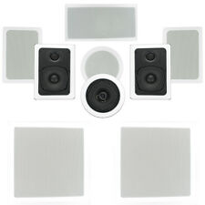 Theater Solutions TST57 In-Wall/Ceiling 1700W Home Theater 7.2 Speaker System