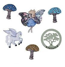 Mythical and Magical Novelty Buttons Jesse James Theme Pack