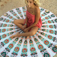 Hippie Round Mandala Tapestry Wall Hangings Beach Throw Towel Yoga Mat Boho