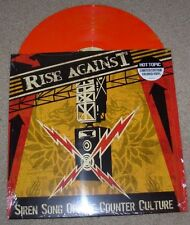 RISE AGAINST RED ORANGE vinyl LP SIREN SONG OF THE COUNTER CULTURE album record