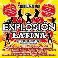 Various-The Best Of Explosion Latina CD NEW