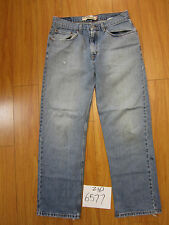 Levi's 559 relaxed straight fit jean used tag 33x32 meas 32x30.5 zip6577