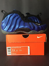 2006 DS NEW NIKE AIR FOAMPOSITE ONE 1 ROYAL PENNY MEN 7.5 WOMEN 9 BLUE 7 8 6.5