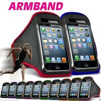SPORTS RUNNING GYM JOGGING CYCLE ARMBAND CASE COVER FOR APPLE IPHONE 4 / 4S