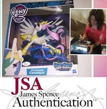 "NICOLE OLIVER signed MY LITTLE PONY Hasbro 8"" Figure PRINCESS CELESTIA PROOF JSA"