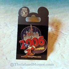 Disney disneyland Sleeping Beauty Castle Sorcerer Mickey 2006 3D Pin (NM:43399)