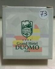SAPONETTA GRAND HOTEL DUOMO 4 STELLE - PISA - QUADRATA g.25 IN SCATOLA - N. 73