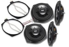 2 x Earthquake Sound SWS-8Xi Subwoofers Include Speaker Adpater Ring 600 Watts 2