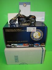 THE FRANKLIN MINT HARLEY DAVIDSON ROAD RALLY V-ROD MOTORCYCLE NEW 1:10 B11E006