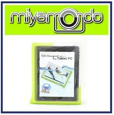 "DiCAPac WP-T20 (Green) Waterproof Case for over 10"" Tablet"