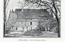 24 SAINT ASTIER CHATEAU DE PUYFERRAT IMAGE 1903