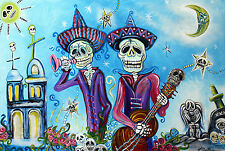 SECRETS OF THE MARIACHI - SKELETONS ART POSTER - 24x36 10045