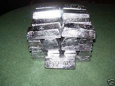 10 LBS PURE SOFT LEAD INGOTS VIRGIN LEAD 99.9 for SINKERS JIGS molds duck decoy
