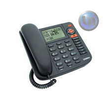 NEW Uniden Corded Phone FP1355 Answering Machine Black Caller ID