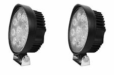 2 X 27W ROUND 9 LED WORK LIGHT BAR FLOOD SUV ATV DRIVING FOG HEAD LAMPS