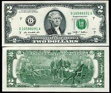 USA - 2 Dollars - Chicago mint - G - 2009 series - UNC currency note