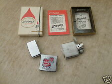 1965 Zippo Lighter DENNY LUMBER CO. 80TH ANNIVERSARY ESTAB.1886 MIDDLETOWN OHIO