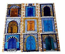 Orientalische Türen 1,35m handbemalte Fliesen orient Mosaik Fliesenbilder