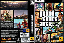 Grand Theft Auto GTA V 5 Latest Full Updates Edition 100% Original PC Game