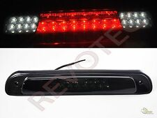 00-06 Toyota Tundra G2 LED 3rd Third Brake Light w LED Cargo Lights Black Smoke